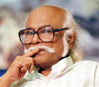 For Index: D.Jayakanthan, Renowned Tamil Writer.Photo: V_Ganesan. (Digital Image) 11.9.04.
